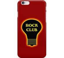 Rock Club iPhone Case/Skin