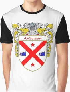 Anderson Coat of Arms/Family Crest Graphic T-Shirt