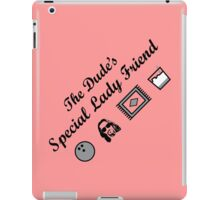 The Dude's Special Lady Friend iPad Case/Skin