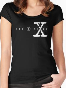 X FILES Women's Fitted Scoop T-Shirt