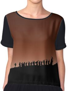 an unexpected journey Chiffon Top