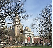 Washington Square Park, New York Photographic Print