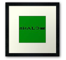 It's Halo Night Framed Print
