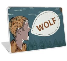 The Boy Who Cried Wolf Laptop Skin