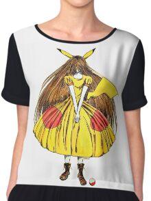 Lady Pikachu Chiffon Top