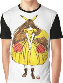 Lady Pikachu Graphic T-Shirt