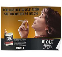 Wolf Cigarettes Poster