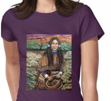 Shaman's Daughter, Margaret  Womens Fitted T-Shirt