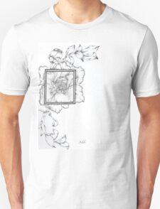 Wild Flora Framed Unisex T-Shirt