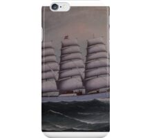 The four-masted steel barque Windermere was built in by T.R. Oswald at Milford iPhone Case/Skin