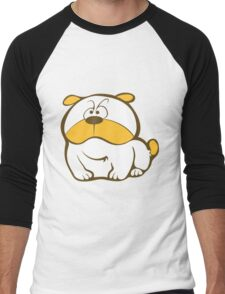 Cute Animal Cartoon Men's Baseball ¾ T-Shirt
