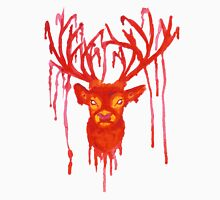 Melting Red Stag Unisex T-Shirt