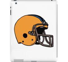 Yellow sport Helmet iPad Case/Skin