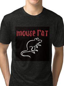 Mouse Rat- Parks and Rec Tri-blend T-Shirt