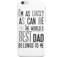 My Daddy My  Superhero iPhone Case/Skin