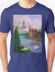 Swan Castle Unisex T-Shirt