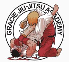 RYU VS KEN - GRACIE JIU-JITSU STYLE One Piece - Long Sleeve