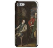 The Honorable Henry Fane () with Inigo Jones and Charles Blair Artist Sir Joshua Reynolds (British, Plympton  London) iPhone Case/Skin