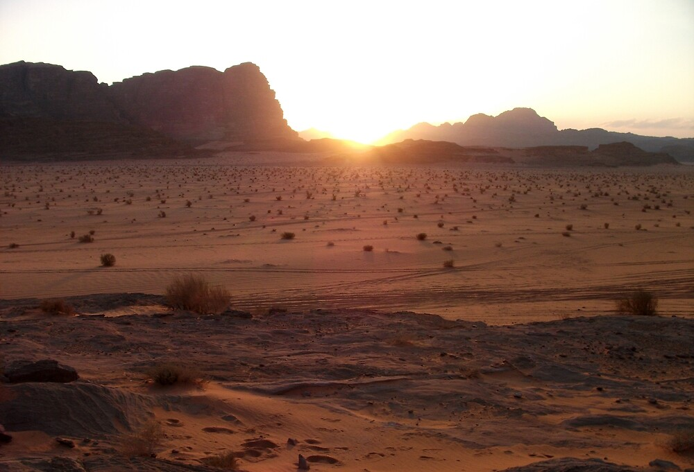 Sunset in Wadi-rum by evonealawi