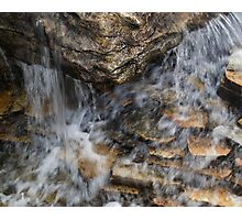running water Photographic Print