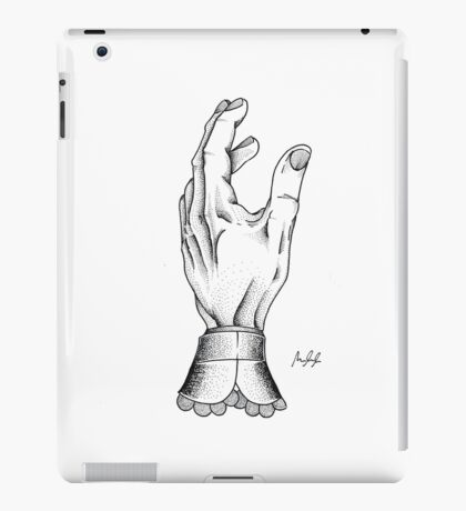 The Hand of a Buisness man iPad Case/Skin