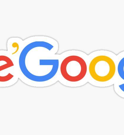 le'goog Sticker
