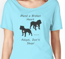 Adopt Don't Shop! Women's Relaxed Fit T-Shirt