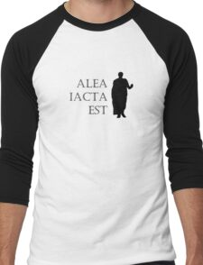 Caesar Alea Iacta Est Men's Baseball ¾ T-Shirt