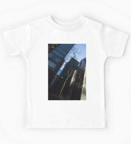 A Study in Contrasts - Downtown Toronto Miniature Park - Right Kids Tee