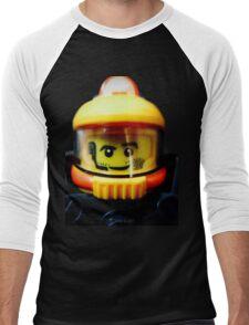 Lego Space Miner minifigure Men's Baseball ¾ T-Shirt