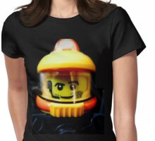 Lego Space Miner minifigure Womens Fitted T-Shirt