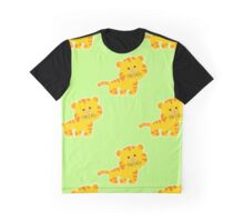 baby pattern with cute tiger Graphic T-Shirt