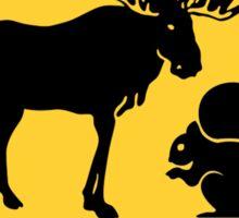 Moose & Squirrel XING Sticker