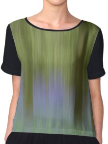 Bluebell Woods - Abstract  Chiffon Top