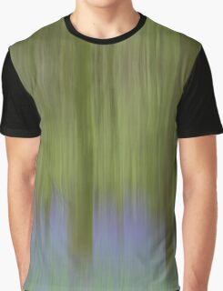 Bluebell Woods - Abstract  Graphic T-Shirt
