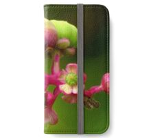 Poke Flower Changing To Berries iPhone Wallet