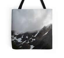 Mountains and snow Tote Bag