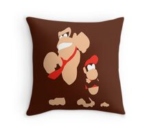 DONKEY & DIDDY Throw Pillow