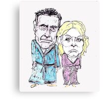 Mitt and Anne Romney- after the election Canvas Print