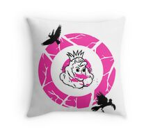 INVISIBLE MONSTERS Throw Pillow