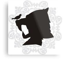 The Hound's Helm Metal Print