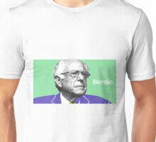 Bernie Sanders Inspired Pop Art - With Text Unisex T-Shirt