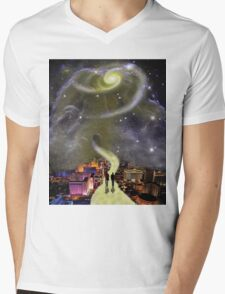 Leaving This World Mens V-Neck T-Shirt