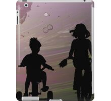 A Bike Ride With My Little Brother iPad Case/Skin