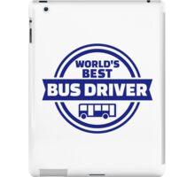 World's best bus driver iPad Case/Skin