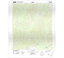 USGS TOPO Map Alabama AL Kirk 20110915 TM Poster