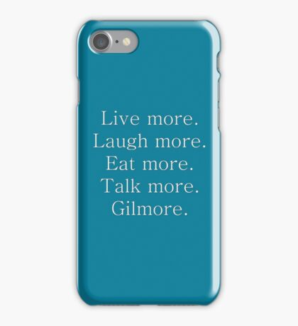 Gil-more. | White iPhone Case/Skin