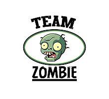 Team Zombie Photographic Print