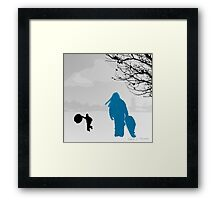 Back Up The Hill 2012 Framed Print