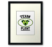 Team Plant Framed Print